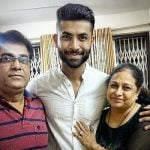 Punit Talreja with parents