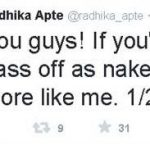 Radhika Apte fake naked pics