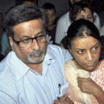 Rajesh Talwar With His Wife Nupur Talwar