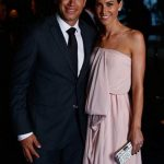 Ross Taylor with his wife