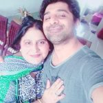Shuja Haider With His Mother