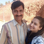 Shweta Vyas father