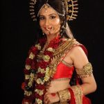Shweta Vyas in the TV serial Shani
