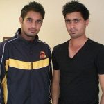 Siddarth Kaul with his brother Uday Kaul