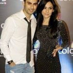 Varun Kapoor with wife
