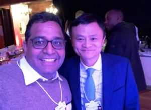Vijay Shekhar Sharma With Jack Ma