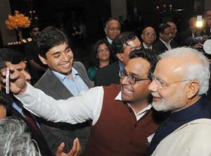 Vijay Shekhar Sharma With Narendra Modi