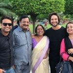 Abhilash Kumar with his family