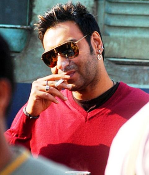 Ajay Devgan Smoking