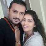 Akanksha Gilani with husband