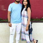 Akshay Panchal with Ruddhi Uplap