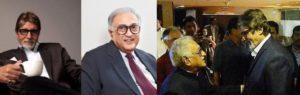Ameen Sayani and Amitabh Bachchan