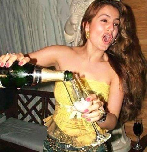 Ameesha Patel Alcoholic