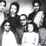 Anita Bose (Six Years Old)With Her family