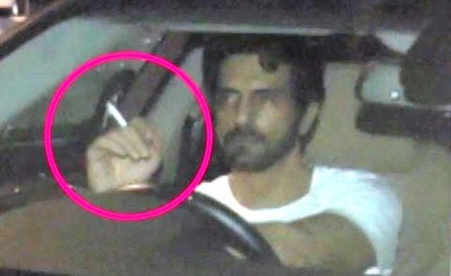 Arjun Rampal Chainsmoker