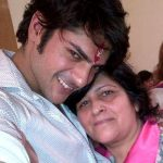 Ashish Kapoor with his mother