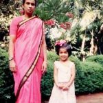 Asin chilhood photo with her mother