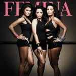Deanne Panday on the coverpage of Femina