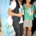 Deanne Panday with Sharukh Khan at her book launch event