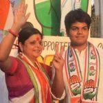 Deepa Dasmunsi with her Son Priyadeep Dasmunshi