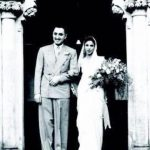 Dina Wadia with her Ex-husband Neville Wadia in 1938