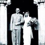 Ness Wadia paternal grandparents Neville Wadia and Dina Wadia