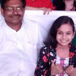 Dipali Borkar with her father