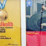 Junaid Kaliwala - Best Trainer Award 2015