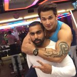 Junaid Kaliwala with Prince Narula