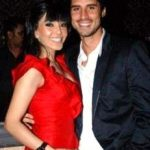 Koena Mitra with boyfriend