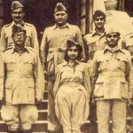 Lakshmi Sehgal With Subhas Chandra Bose.