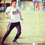 Majid Khan Playing Football