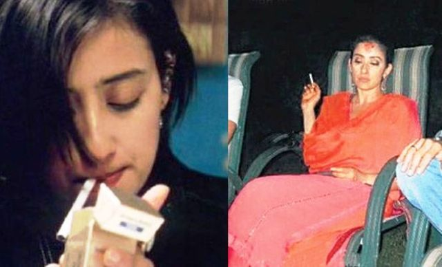 Manisha Koirala Smoking