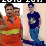 Pankit Thakker before & after