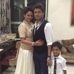 Payal Gidwani Tiwari Husband and Son