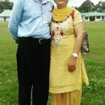Preetika Chauhan Parents