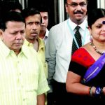 Priya Ranjan Dasmunsi With His Wife Deepa