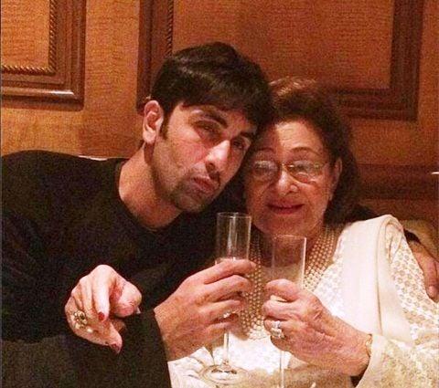 Ranbir Kapoor Drinking