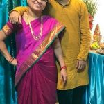 Sagar Bora with his mother