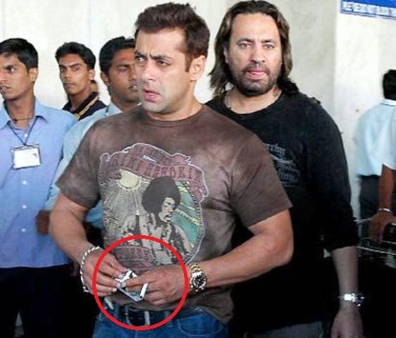 Salman Khan Chainsmoker