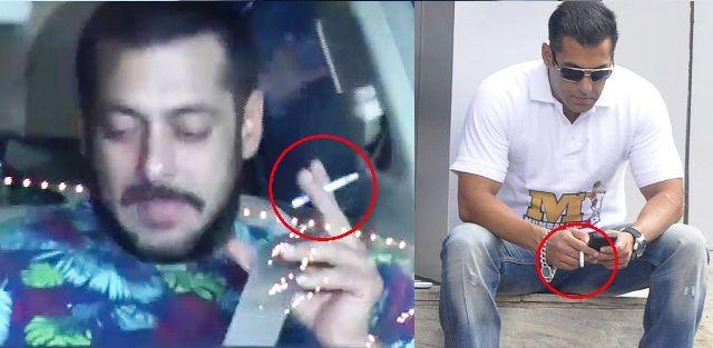 Salman Khan Smoking