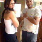Satyajit Chaurasia with Esha Deol