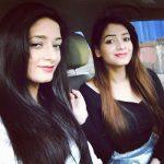 Shagun Sharma with Sister