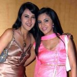 Shilpa Anand with sister