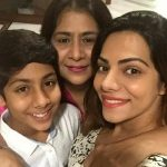 Tanvi Thakkar with Mother & Brother