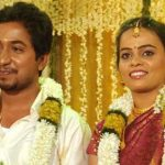 Vineeth with his wife