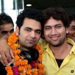 Vishnu Sharma with his brother Dev Sharma