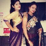 Zeliya Christopher with mother