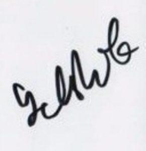 golshifteh farahani signature