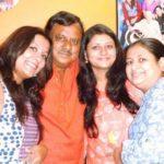 Akansha Verma with father and sisters